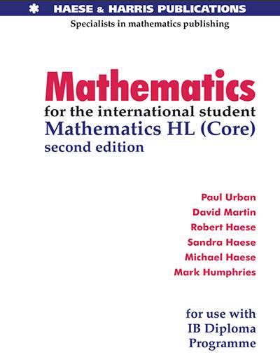IB HL进阶数学教材电子版及内容和目录大纲