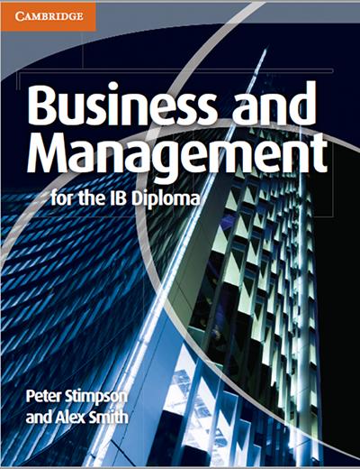 IB商科教材电子版及内容和目录大纲