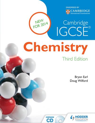 IGCSE化学教材电子版及内容和目录大纲