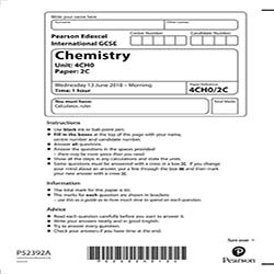 GCSE化学真题及答案和讲解-试卷Paper 2
