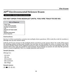 AP环境科学真题及答案和讲解-试卷Paper 1