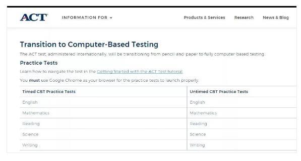 ACT报名流程指导,ACT考试费用多少?