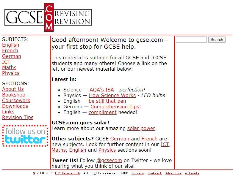 学霸必备,英国GCSE课程学习实用网站最全整理!