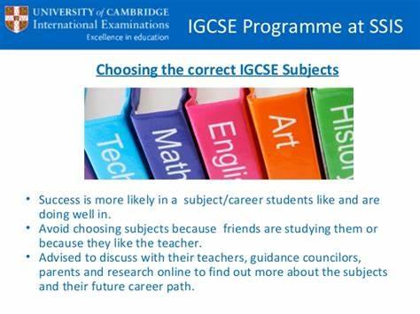 IGCSE课程设置盘点,剑桥IGCSE有哪些课程?