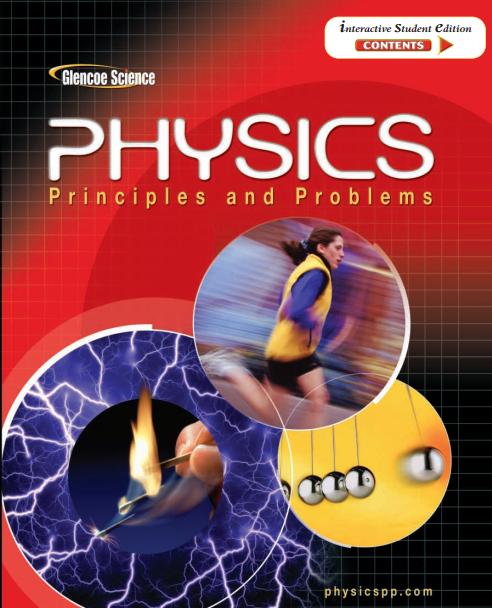 美国高中物理教材电子版内容及目录大纲