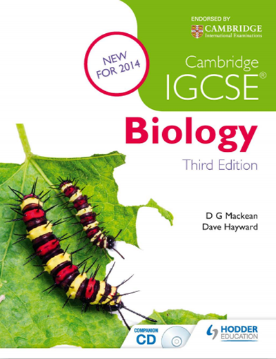 IGCSE生物教材电子版